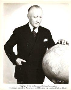 Adolph Zukor produttore e dirigente Paramount