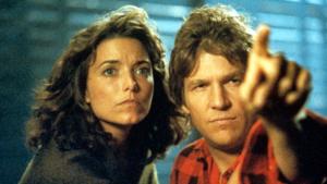 Jeff Bridges e Karen Allen in Starman 1984
