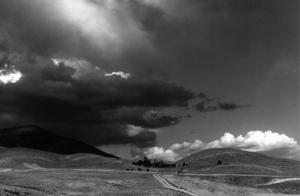Roads and rain -fotografia di Kiarostami