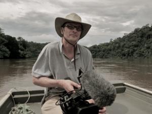 Il regista Antonio Tibaldi
