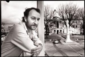 Lo scrittore Larry Brown