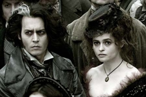 Johny Depp e HElena Bonham Carter sembrano le due versioni dal vivo di Victor e Victoria