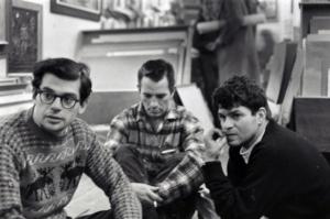 Allen Ginsberg, Jack Kerouac e Gregory Corso al Greenwich Village