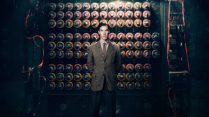 "Benedict Cumberbatch interpreta Alan Touring in ""The Imitation Game"""