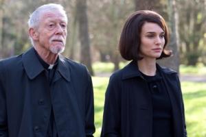 John Hurt e Natalie Portman