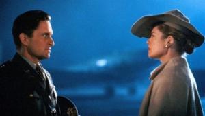 """Michael Douglas e Melanie griffith in """"Vite Sospese"""""""