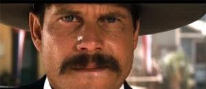"""Bill Paxton nella parte di Morgan Earp """"Tombstone"""""""