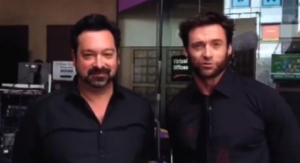 James Mangold (sx) e Hugh Jackman (dx)