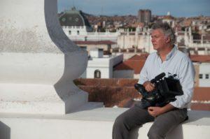 Il regista Ferdinando vicentini Orgnani